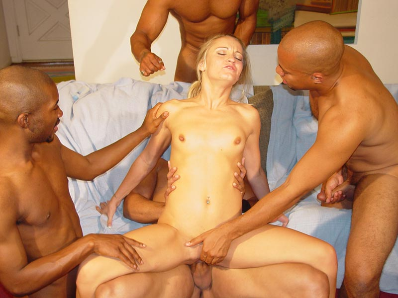 college slut gangbang