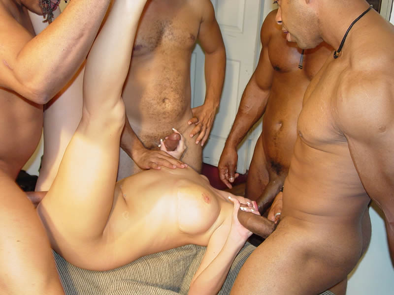 Arab black dick hung latino man muscle uncut