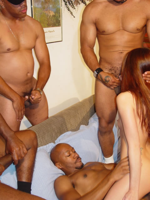 Apologise, but, her first gang bang mariah the message